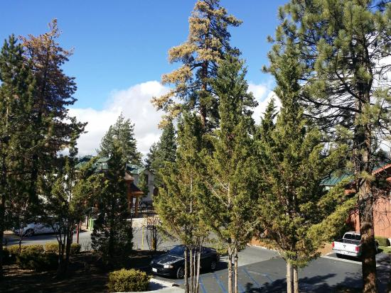 Worldmark at Big Bear: Looking out from balcony