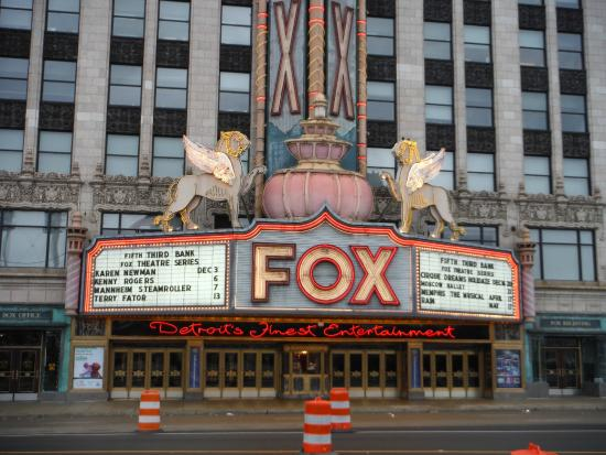 Fox Car Rental Oakland: Picture Of Woodward Avenue, Detroit