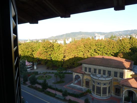 Grand Hotel Tettuccio : vista dalla nostra camera
