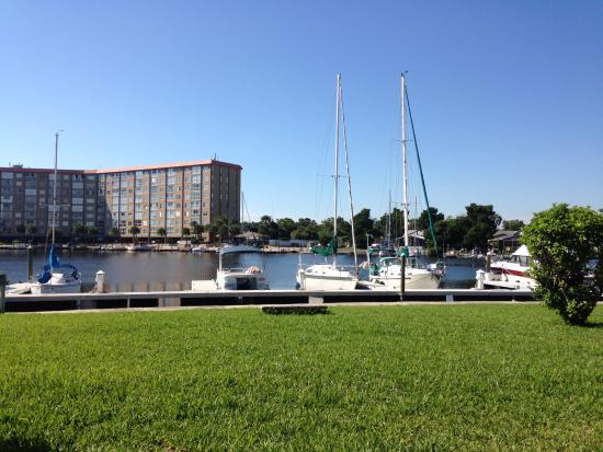 Magnuson Hotel and Marina New Port Richey: From our room