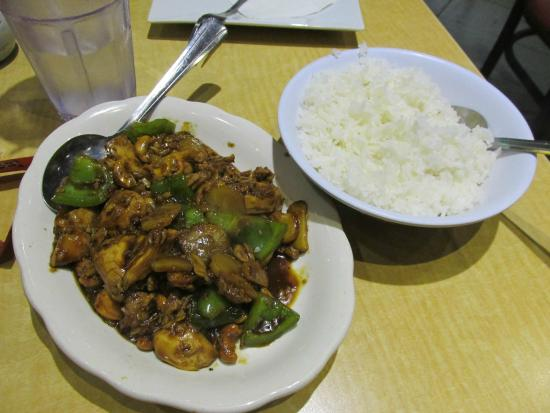 City Wok : Cashew Chicken--delicious!