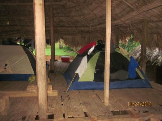 Adventures Panama : Camping at Embera Village