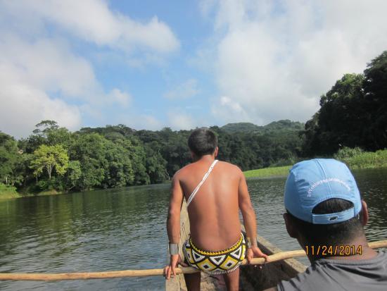 Adventures Panama : Embera Village Guide to Water fall