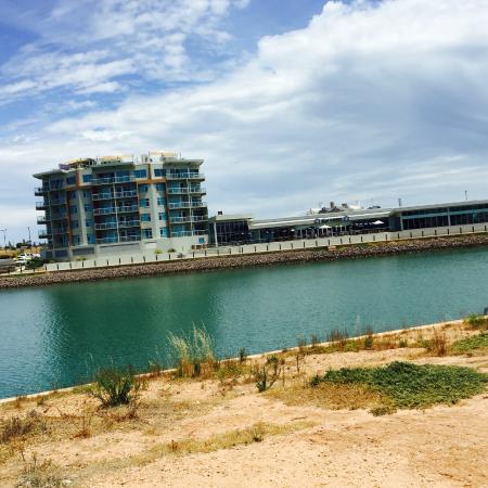 Wallaroo Marina Apartments View Across To The Hotel Coopers Alehouse