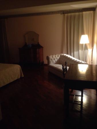 Casa Margherita : particolare della camera al secondo piano