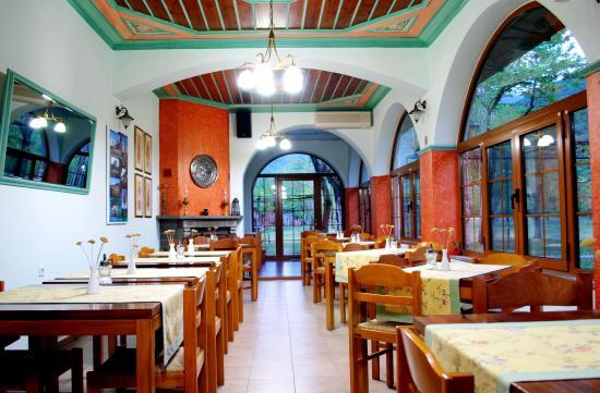 Kleidonia, Hellas: αίθουσα πρωινού