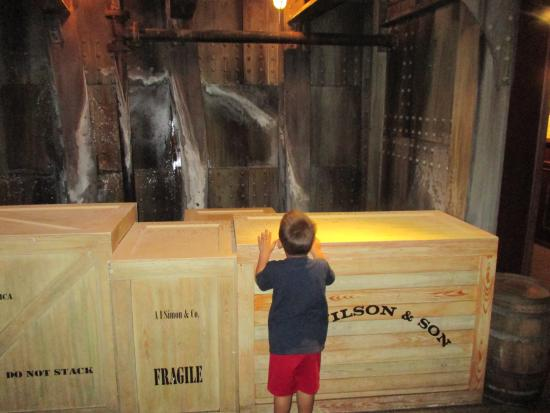 Ripley's Believe It Or Not: checking out the titanic stuff