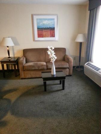 Hampton Inn & Suites Las Vegas South: sitting room