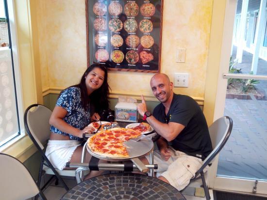 Duetto Pizza and Gelato : melhor pizza de key west