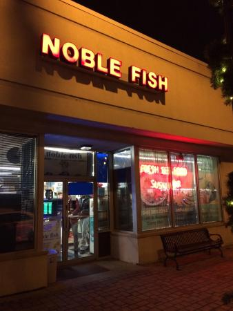 Noble Fish: Store front
