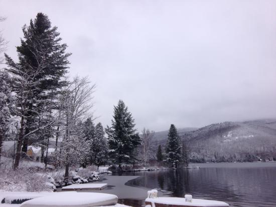 Prospect Point Cottages - Blue Mountain Lake: Scenic shot