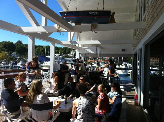 Red 36 Busy Sunny Warm September Brunch On The Deck