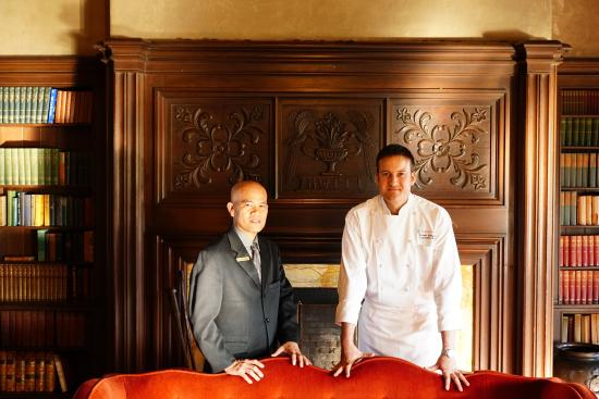 Julia's at the Berkeley City Club : Ariel Lapena, Food and Beverage Manager & Alaun Grimaud, Executive Chef