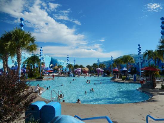 The Big Blue Pool Picture Of Disney 39 S Art Of Animation Resort Kissimmee Tripadvisor