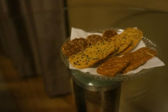 AL Boutique Hotel Tel-Aviv: Welcome cookies