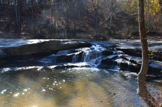 Musgrove Mill State Historic Site: Horseshoe Falls