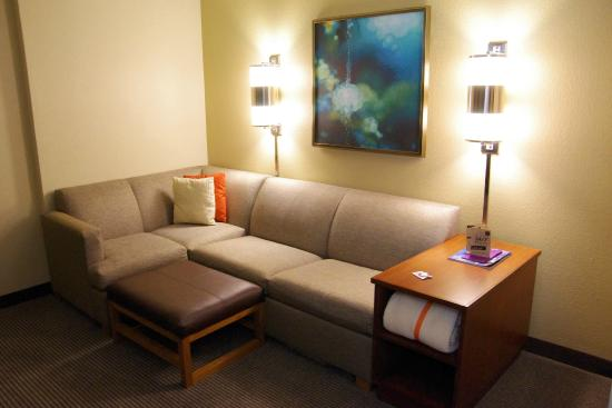 Hyatt Place Atlanta Airport North : Sitting area in the room