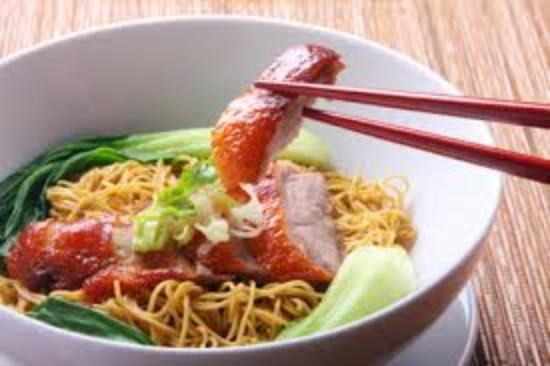 Great chow mein - Picture of Pure Oriental Cuisine Parkstone, Poole on