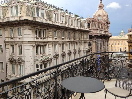 Hotel Bristol Palace Balcony