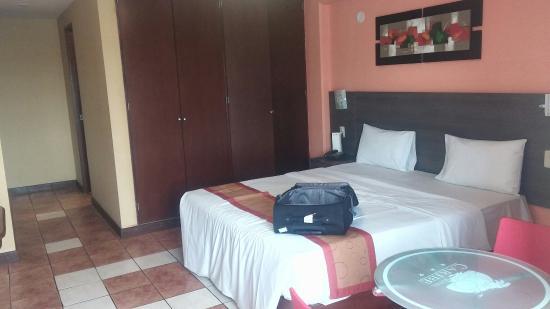 Hotel Caribe: Detalle de habilitación simple