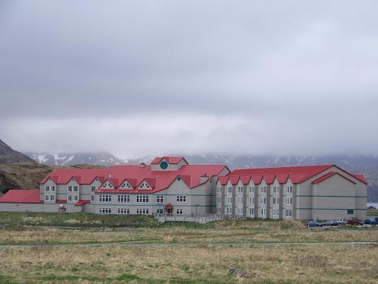 Grand Aleutian Hotel Foggy Dutch