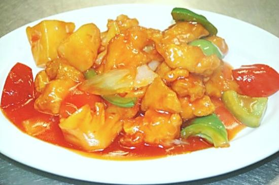 7 Haven : sweet-sour/chicken