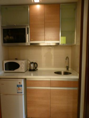 Westlake No.7 Apartment Hotel: A pantry