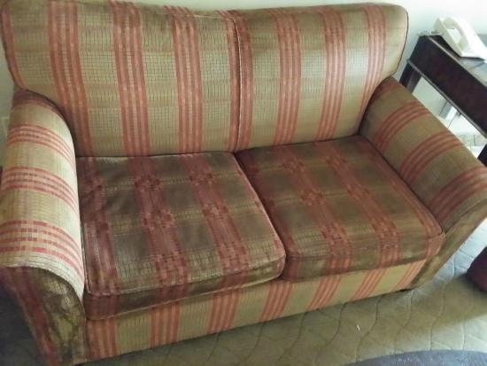 gross stained sofa picture of harrah 39 s las vegas las vegas tripadvisor. Black Bedroom Furniture Sets. Home Design Ideas