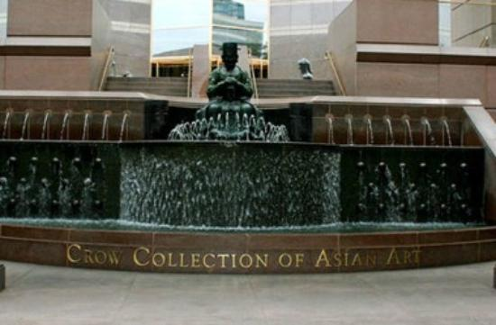 Crow Collection of Asian Art : fountain