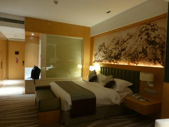 Crowne Plaza Shaoxing : Reasonable room size