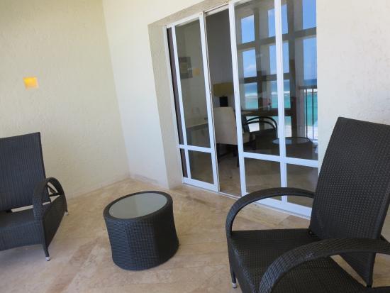 Club Regina Cancun : balcony view