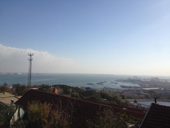 Shidao Chishan Scenic Resort : 海を見える