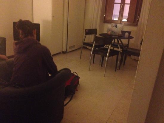 Palazzo Ricasoli Residence: Kitchenette/livingroom