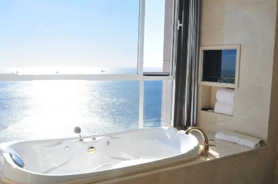 Shidao Hotel: 海を見える部屋