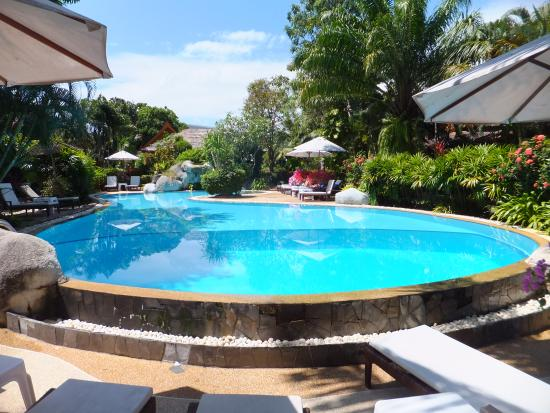 Palm Garden Resort Phuket: Poolbereich