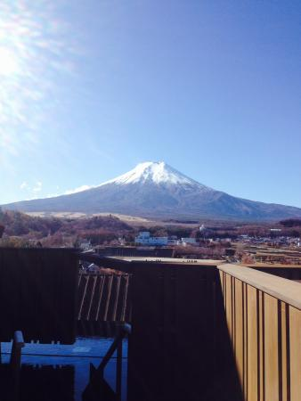 Fujisan Onsen Hotel Kaneyamaen: 展望露天風呂からの眺め