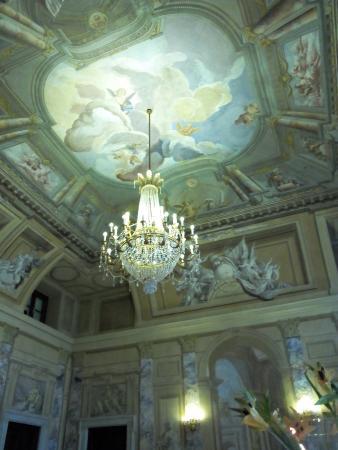 Decorazioni soffitto foto di villa fenaroli palace hotel - Decorazioni soffitto ...