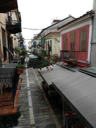 Kyveli Suites : View from balcony
