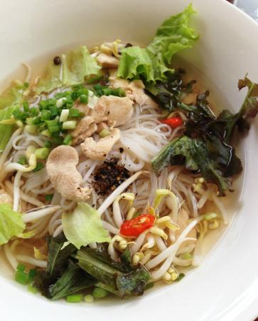 The Apsara: noodle soup breakfast