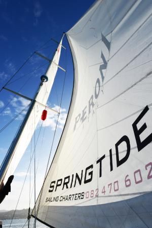 Springtide Sailing Charters: Springtide Sail