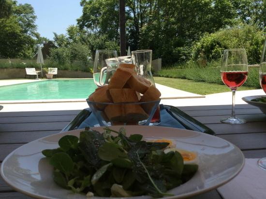 Montaut, Francja: Lunch