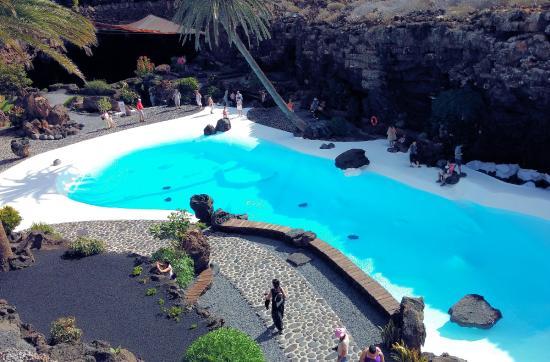 Underground Lake - Picture of Jameos Del Agua, Punta Mujeres - TripAdvisor