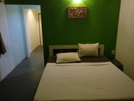 Da Kanda Villa Beach Resort : Bett