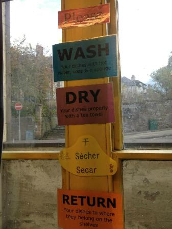 Inverness Student Hotel: Attention please...