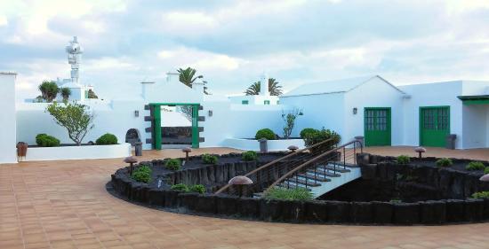 Casa-Museo Monumento al Campesino: Patio interior