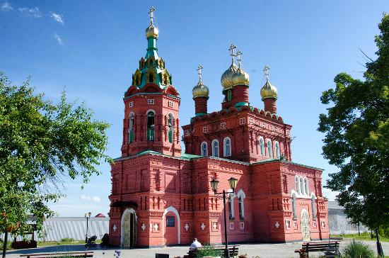 Kulakovo, Russland: Храм