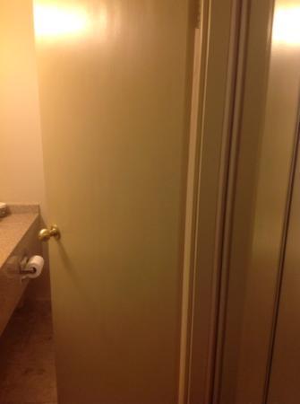 Holiday Inn Toronto International Airport: cheap looking door