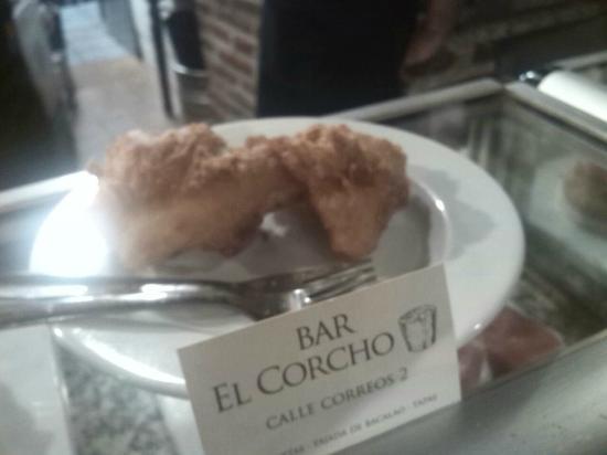 Tajada de bacalao con un rebozado espectacular hecha al - Corcho proyectado opiniones ...