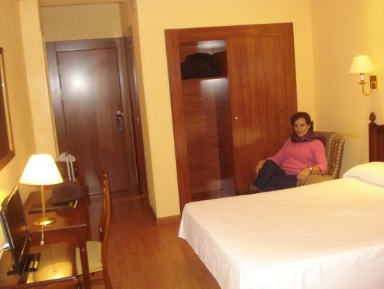Hotel Roma : habitación