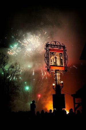 The Castle Inn: Castle Inn Bonfire night